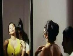 Indian glamorous actress bathing in softcore mallu movie