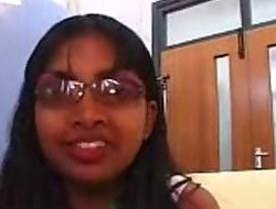 Shy Indian Girl Gives Very Slow Oral sex